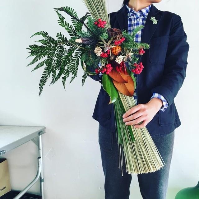 [12/12]TOKOLOフラワーレッスン「お正月飾り」