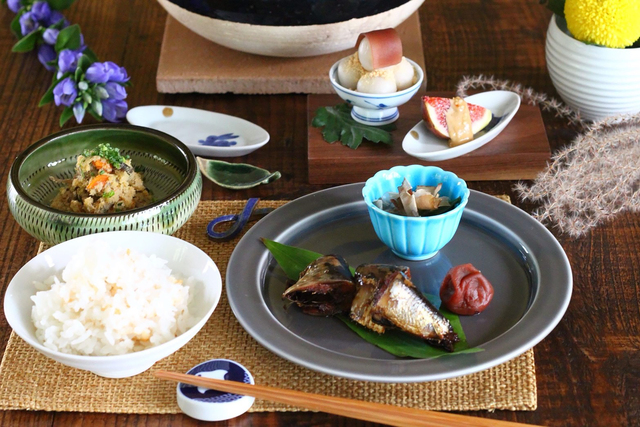 【やかまし村のギャラリー】[料理教室]ミニ懐石ランチ ~素材の向こう側が見える食卓に~