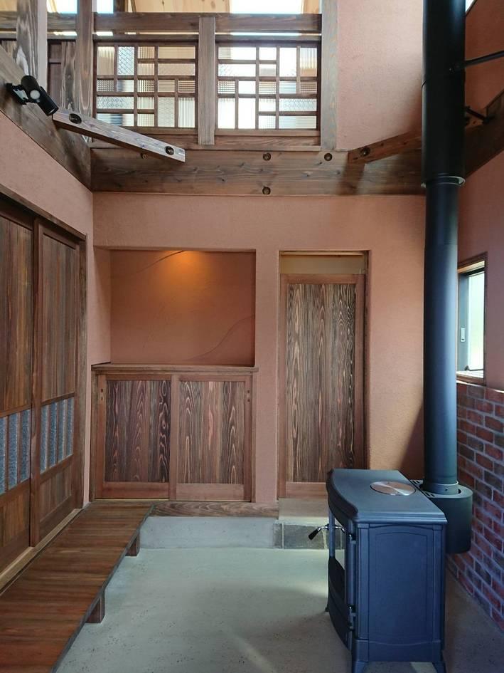 和製洋館を思わせる家。/佐賀市大和町