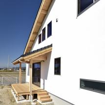 借景を楽しむ、シンプルな住まい。/佐賀市大和町 ※徒歩1分の建築地で構造見学会も開催!