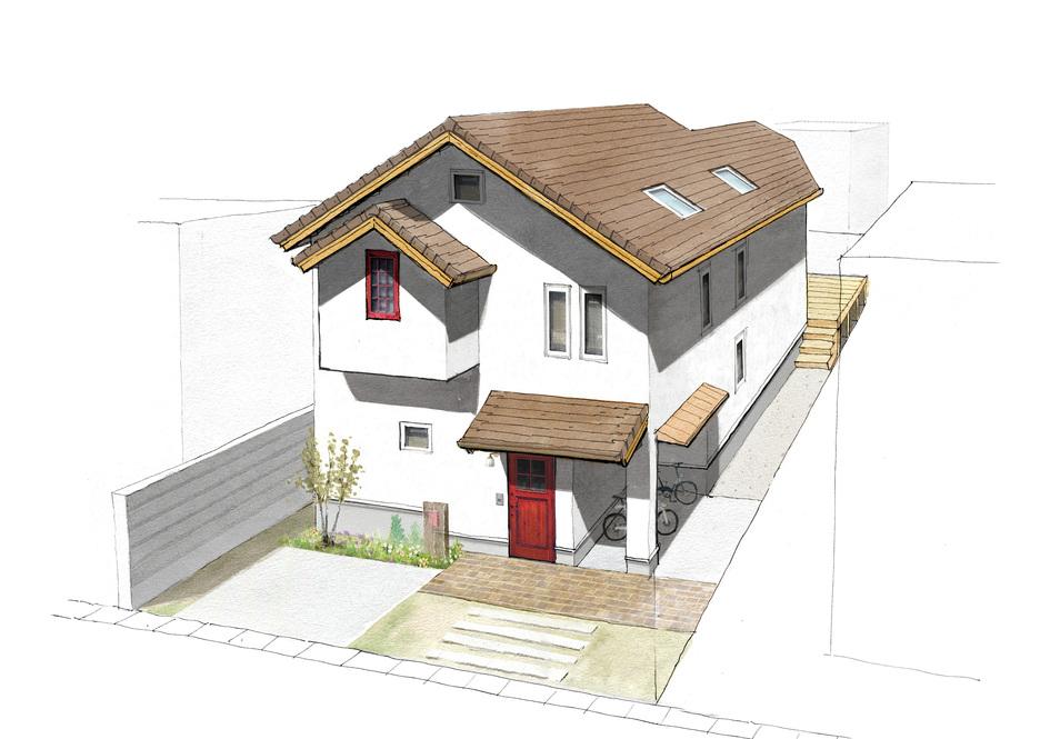 敷地を読み解き、数字以上の広がりを。/福岡市城南区