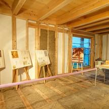 家の力と、素材の力。構造見学会 / 柳川市三橋町