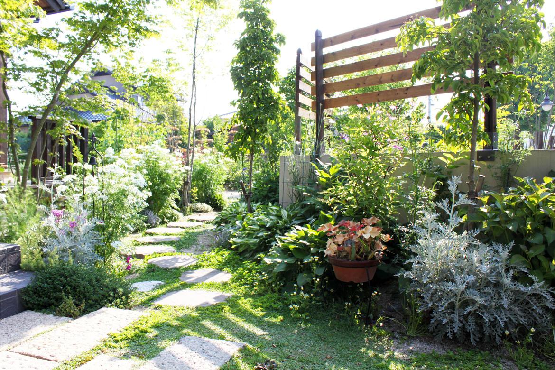 育て、愛でる庭づくり。