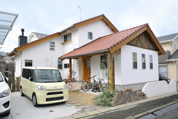 すっきりと使い勝手の良さが共存する家。